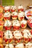 Fresh fruit salad. Fruit Cocktail Stock Photography