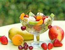 Fresh fruit salad Royalty Free Stock Photography