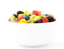 Fresh fruit salad mix Stock Photos