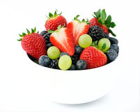 Fresh fruit salad mix Stock Images