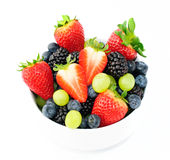 Fresh fruit salad mix Royalty Free Stock Image