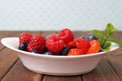 Fresh fruit salad Stock Images