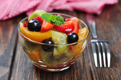Fresh fruit salad Stock Photography