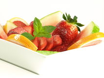Fresh fruit salad for your diet Stock Photos