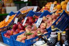 Fresh fruit on sale at market Stock Image