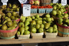 Fresh fruit for sale Royalty Free Stock Photos