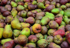 Fresh fruit for sale-pears Royalty Free Stock Photo