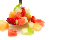 Fresh Fruit Salsa Stock Photography