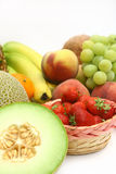 Fresh fruit selection Stock Images
