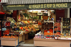 Fresh fruit shop Royalty Free Stock Image