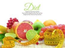 Fresh fruit slices Stock Image