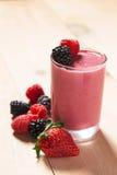 Fresh Fruit Smoothie Royalty Free Stock Image