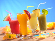 Free Fresh Fruit Smoothies Royalty Free Stock Images - 19307069