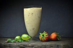 Fresh fruit smoothies Royalty Free Stock Photos