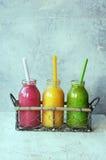 Fresh fruit smoothies Royalty Free Stock Photo