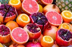 Fresh fruit. Some fresh fruit in the supermarket Stock Image