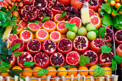 Fresh fruit. Some fresh fruit in the supermarket Royalty Free Stock Images