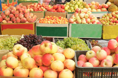 Fresh Fruit Stand Stock Image
