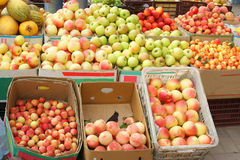 Fresh Fruit Stand Royalty Free Stock Photography