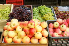 Fresh Fruit Stand Stock Images
