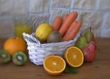 Fresh fruit on the table Stock Photo