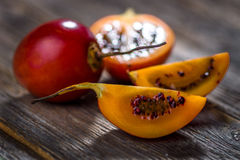 Fresh fruit tamarillo Stock Image
