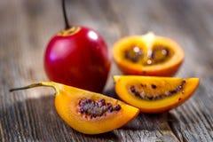 Fresh fruit tamarillo Royalty Free Stock Photography
