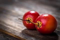 Fresh fruit tamarillo Stock Photo