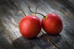 Fresh fruit tamarillo Royalty Free Stock Image