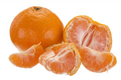 Fresh fruit tangerine Stock Photo
