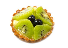 Fresh fruit tart Stock Photography