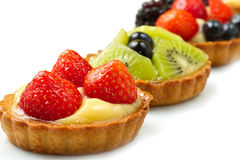 Fresh fruit tart Royalty Free Stock Image