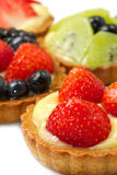 Fresh fruit tart Royalty Free Stock Photography
