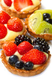 Fresh fruit tart Stock Image