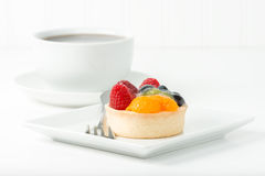 Fresh Fruit Tart Royalty Free Stock Images