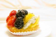 Fresh fruit tart Stock Photos