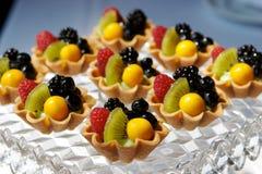 Fresh Fruit Tarts Royalty Free Stock Photography