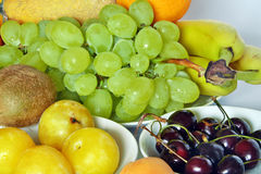 Fresh fruit of various kinds Royalty Free Stock Photo
