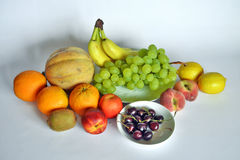 Fresh fruit of various kinds Royalty Free Stock Image