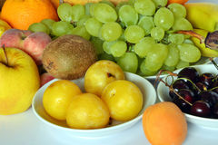Fresh fruit of various kinds Stock Image