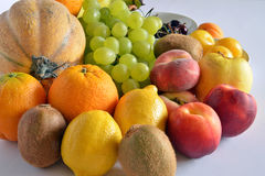 Fresh fruit of various kinds Royalty Free Stock Images