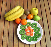 Fresh fruit of various kinds. Still life Stock Images