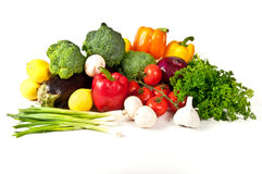 Fresh fruit and vegetable Royalty Free Stock Photos