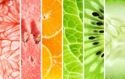 Fresh fruit and vegetable stock image