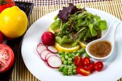 Salad. Fresh fruit and vegetable salad Royalty Free Stock Photo