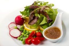 Salad. Fresh fruit and vegetable salad Stock Photo