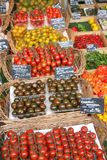 Fresh Fruit and Vegetable Stand. Munich, Germany Royalty Free Stock Photos
