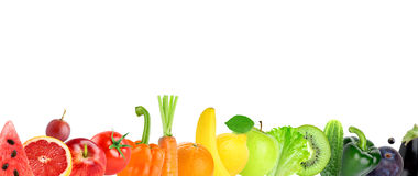 Fresh fruit and vegetable Royalty Free Stock Photography