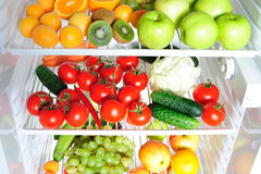 Fresh fruit and vegetables Stock Photography