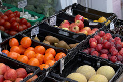 Fresh fruit and vegetables Royalty Free Stock Photography